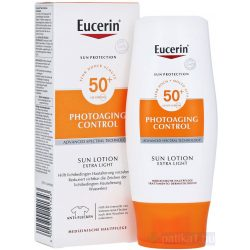 Eucerin Sun Photoaging Control naptej testre FF50 150 ml
