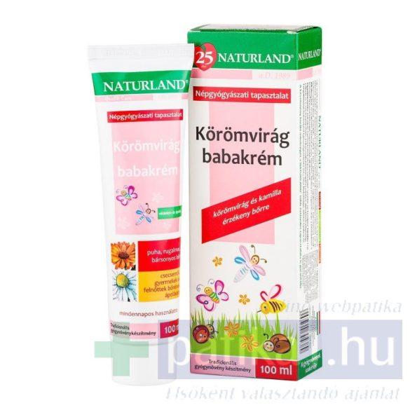 Naturland Körömvirág babakrém 100 ml