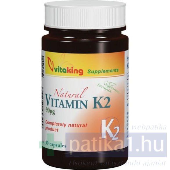 Vitaking K2-vitamin 90 mikrogramm kapszula 30 db