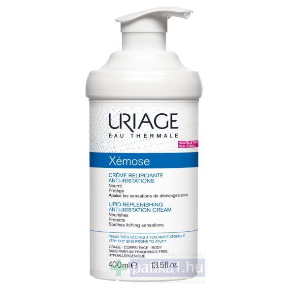 Uriage XÉMOSE Krém száraz/nagyon száraz bőrre 400 ml