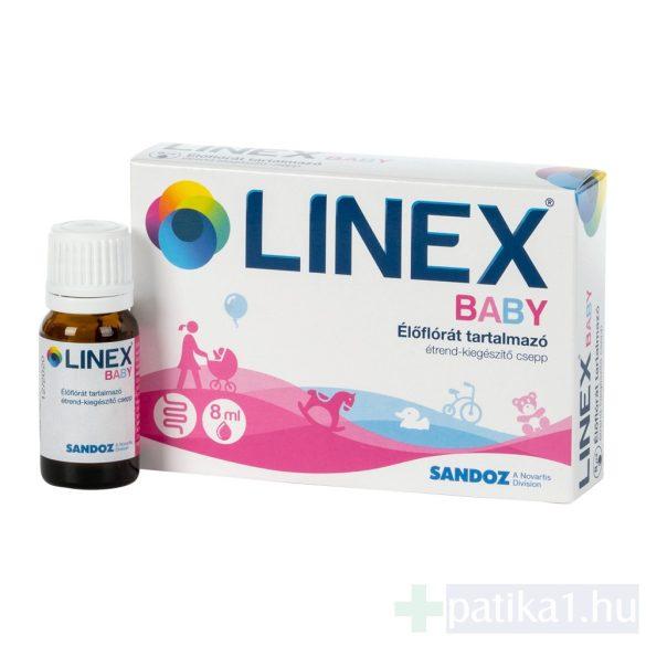 Linex Baby étrendkiegészítő csepp 8 ml