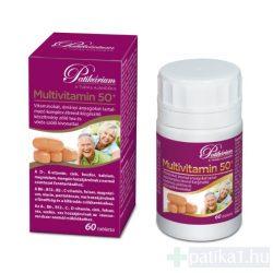 Patikárium Multivitamin tabletta 50+ 60x