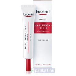 Eucerin Hyaluron-Filler+Volume Lift Bőrfeszesítő szemránckrém
