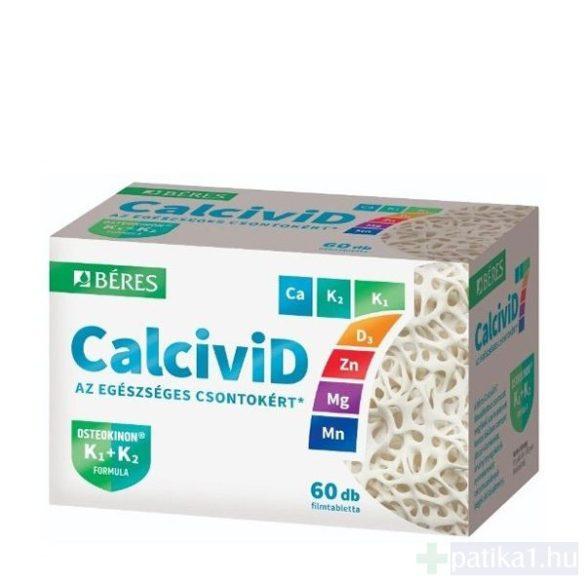 Béres Calcivid 7 filmtabletta 60 db