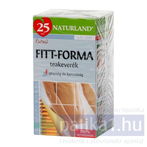 Naturland Fittforma tea filteres 20x 2 gramm