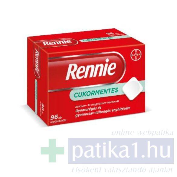 Rennie cukormentes rágótabletta 96 db
