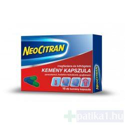Neo Citran kemény kapszula megfázásra és köhögésre 16 db