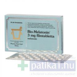 Bio-Melatonin 3 mg filmtabletta 30 db