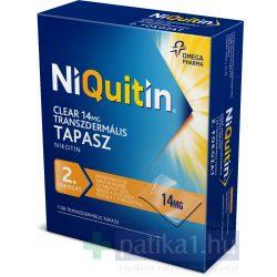 NiQuitin Clear 14 mg transzdermális tapasz 7 db - dohányzásról leszoktatás 2. lépés