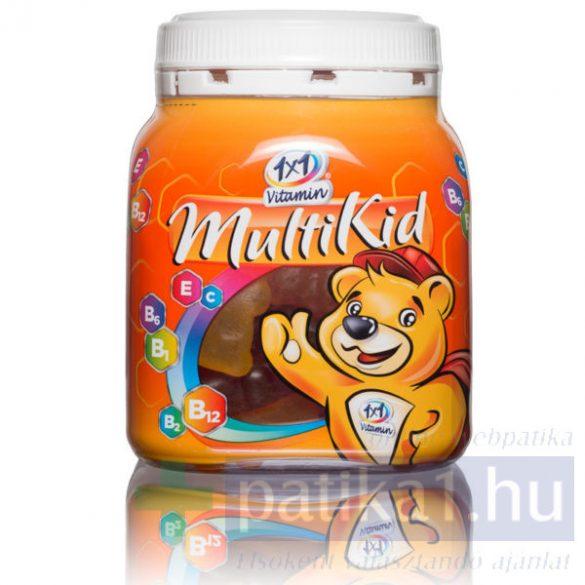 Vitaplus 1x1 Vitaday MultiKid gumivitamin 50 db