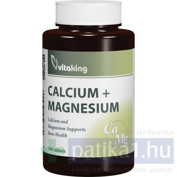 Vitaking Calcium Magnesium Cink tabletta 100 db