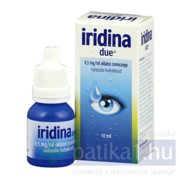 Iridina Due oldatos szemcsepp