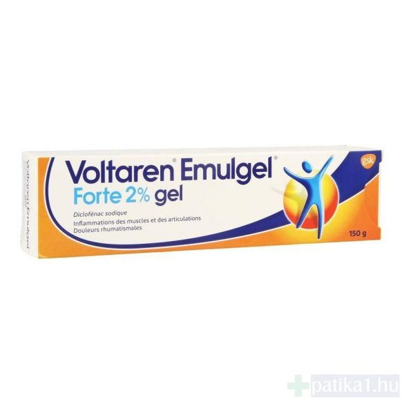 Voltaren Emulgel Forte 20 mg/g gél 150 g