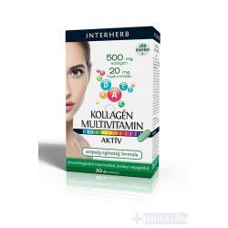 Interherb Kollagén Multivitamin tabletta 30 db