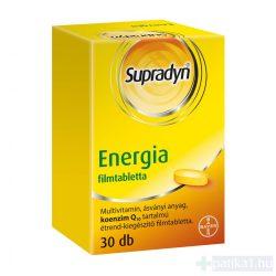 Supradyn Energia multivitamin Q10 filmtabletta 30 db