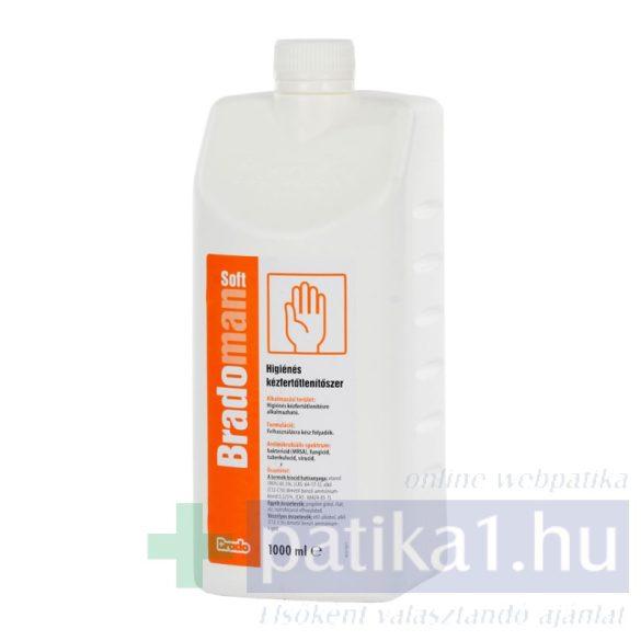 Bradoman Soft oldat kézfertőtlenítő 1000 ml