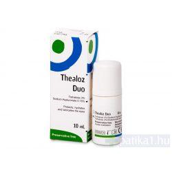 Thealoz Duo nedvesítő szemcsepp 10 ml