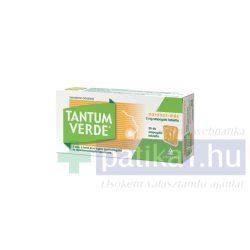 Tantum Verde narancs-méz 3 mg szopogató tabletta 20 db