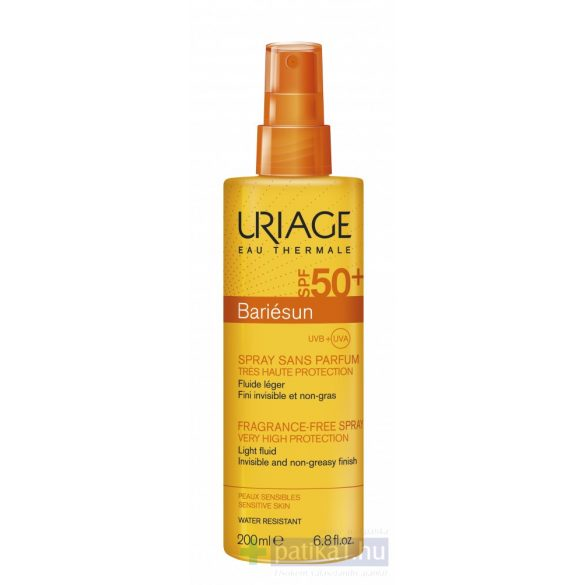 Uriage BARIÉSUN Illatmentes spray SPF50+200 ml