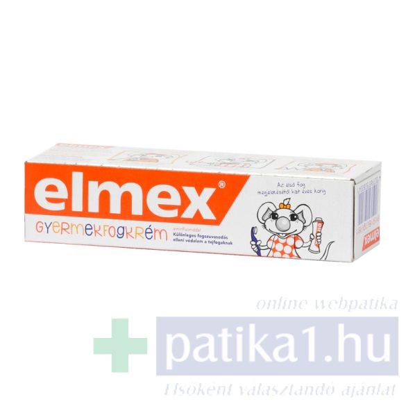 Elmex fogkrém gyermek 50 ml