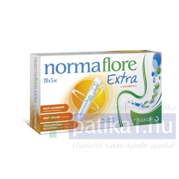 Normaflore Extra 4 milliárd/5ml belsőleges szuszpenzió 20 db