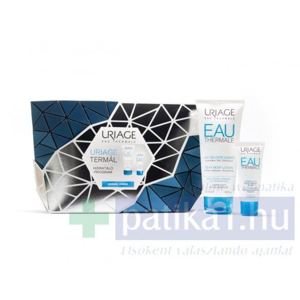 URIAGE TERMÁL HIDRATÁLÓ PROGRAM - NORMÁL BŐRRE ajándék női táskával40 + 200 ml