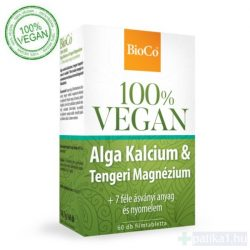 BioCo Vegan Alga Ca - Tengeri Mg filmtabletta 60 db 100% vegán