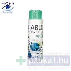 Tiablo kézfertőtlenítő gél 400 ml