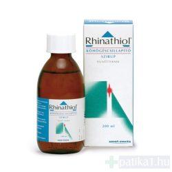 Rhinathiol 1,33 mg/ml köhögéscsillapító szirup felnőtt 200 ml