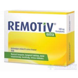 Remotiv Extra 500 mg filmtabletta 30x
