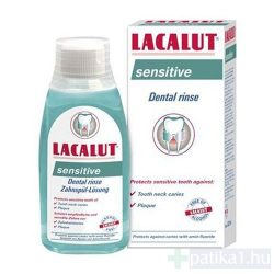 Lacalut szájvíz sensitive fluoridos 300 ml