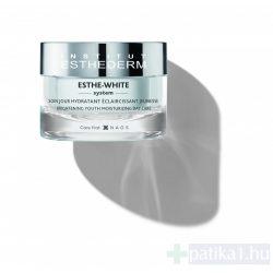 Institut Esthederm Esthe White nappali hidratáló krém a fiatalos és pigmentfoltmentes bőrért 50 ml