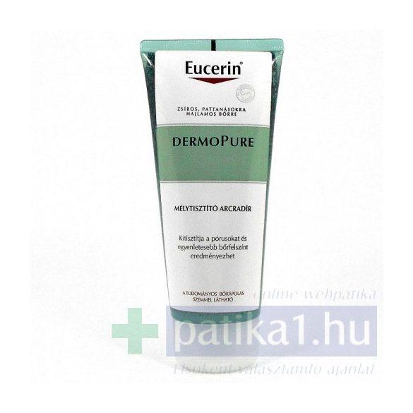 Eucerin DermoPure Mélytisztító arcradír 100 ml