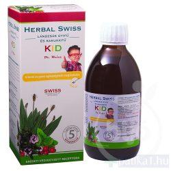 Herbal Swiss KID étrend-kiegészítő folyadék 300 ml