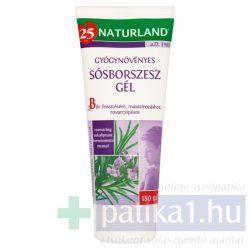 Naturland Sósborszesz gél gyógynövényes 180 ml