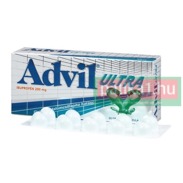 Advil Ultra lágy kapszula 20 db
