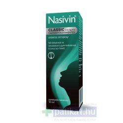 NASIVIN CLASSIC 0,5 MG/ML TARTÓSÍTÓSZER-MENTES OLDATOS ORRSPRAY 10 ml