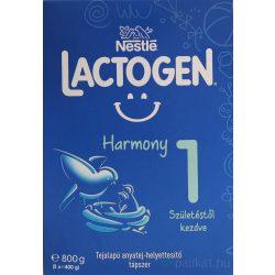 Lactogen Harmony 1 tejalapú anyatej-hely tápszer 800g