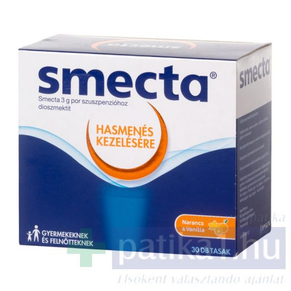 Smecta 3 g por szuszpenzióhoz 30 db