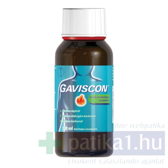 Gaviscon menta ízű belsőleges szuszpenzió 300 ml