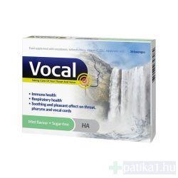 Vocal szopogató tabletta menta 24x