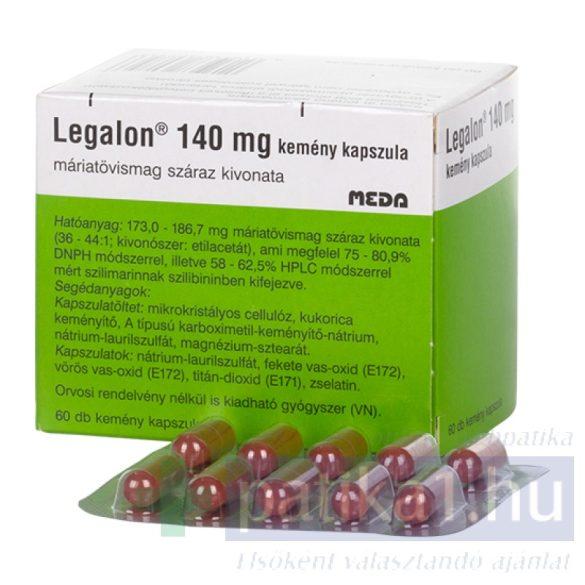 Legalon 140 mg kemény kapszula 60 db