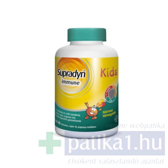 Supradyn Immun Kids C-vit D-vit cink gumivitamin 100 db