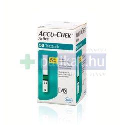 AccuCheck Active Glucose vércukormérő tesztcsík 50x