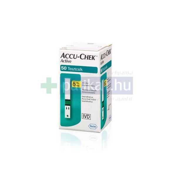 AccuCheck Active Glucose vércukormérő tesztcsík