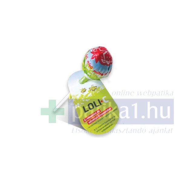 Loli-C C-vitamin növényi kivonat nyalóka 45 db