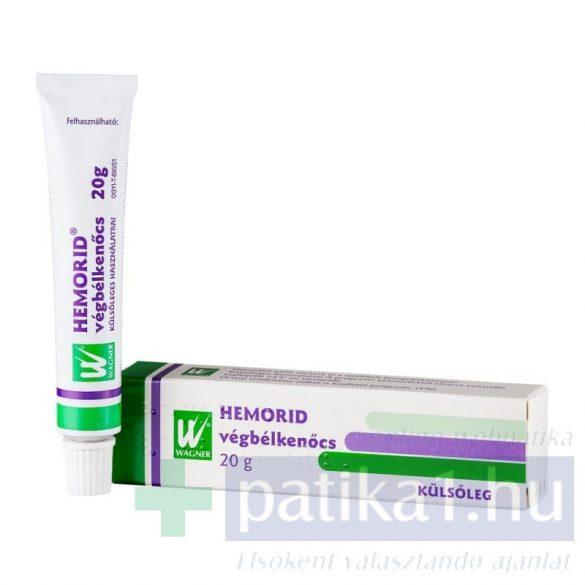Hemorid végbélkenőcs 20 g