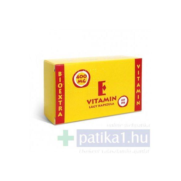 Vitamin E Bioextra 400 mg lágy kapszula 60 db
