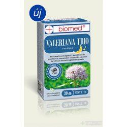 Biomed Valeriana Trio Étrendkiegészítő kapszula 30 db