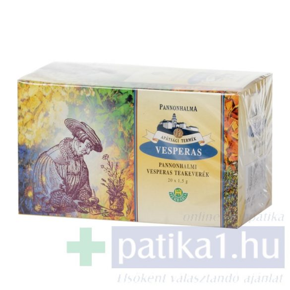 Pannonhalmi Vespera teakeverék 20x filteres